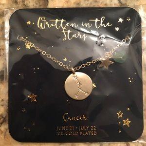 Francesca's Cancer Zodiac Necklace